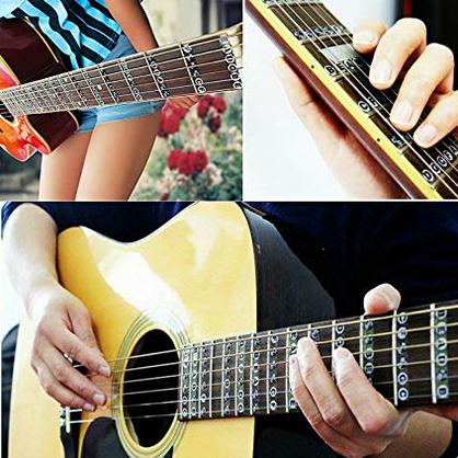 ギター指板シール 音名
