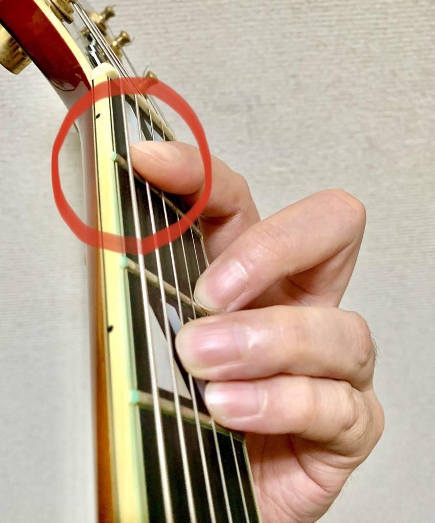 ギター バレーコード 押さえ方