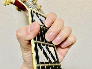 ギター D7コード 押さえ方