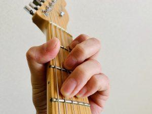 ギター C7 押さえ方 コードフォーム