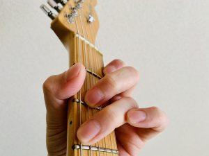 ギター G7 押さえ方 コードフォーム